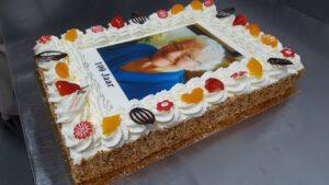 100 JAAR VIERKANT, foto taartenpagina, taarten, bakkerij rob janssen, elsloo, top taarten, naar wens maken, elsloo, zuid limburg, communie, verjaardag,