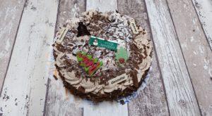 Christoffeltaart met Kerstdecoratie, bakkerij rob janssen, taarten, foto pagina, elsloo, Kerstdecoratie
