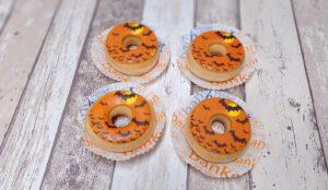 Halloween donuts, foto gebakpagina, bakkerij rob janssen, elsloo, zuid limburg,