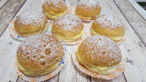 gebak, foto gebakpagina, assortiment, bakkerij rob janssen, elsloo, zuid limburg, pudding kruimelbol