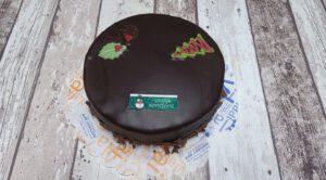 Sachertorte met Kerstdecoratie, bakkerij rob janssen elsloo, taarten, fotopagina,