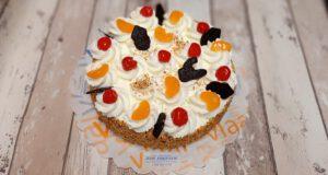 slagroomtaart met fruit, bakkerij rob janssen, taarten fotopagina, elsloo, zuid limburg, taarten