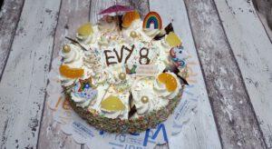 verjaardagstaart slagroom, bakkerij rob janssen, elsloo, limburg, zuid