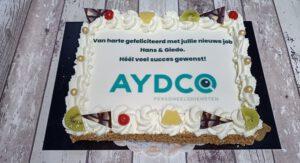 Slagroomtaart AYDCO, bakkerij rob janssen, elsloo, ambachtelijk, vruchten,