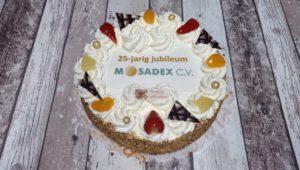 Slagroomtaart Mosadex C.V. , bakkerij rob janssen, elsloo, ambachtelijk, fototaart,